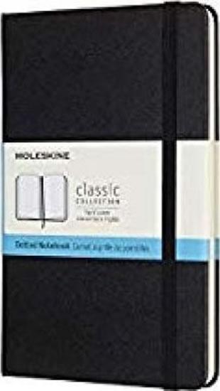 Zápisník Moleskine - tvrdé desky - M, tečkovaný, černý