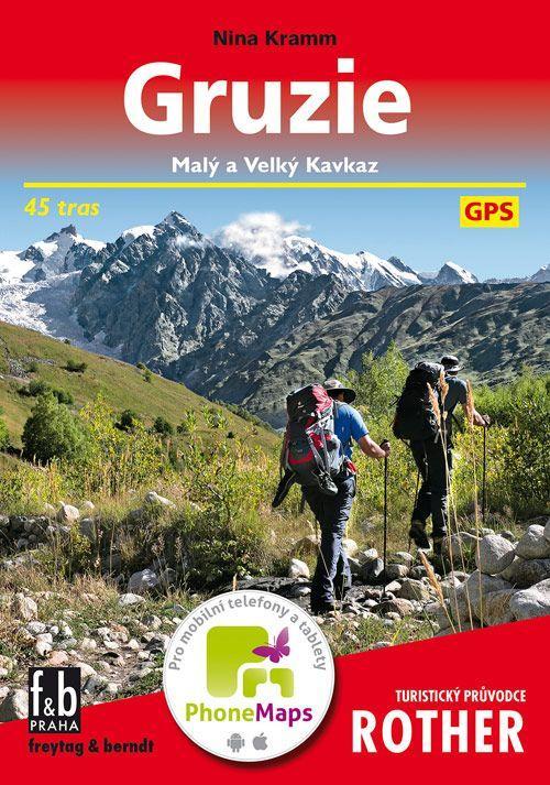 2aa6e14166 Kniha Gruzie - Malý a Velký Kavkaz - Nina Kramm