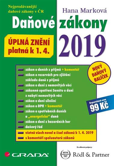DAŇOVÉ ZÁKONY 2019 K 1.4.