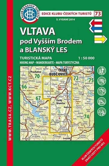 VLTAVA POD VYŠŠÍM BRODEM A BLANSKÝ LES Č.73