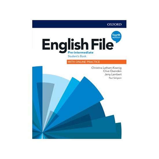 ENGLISH FILE 4ED.PRE-INTER SB/OXFORD