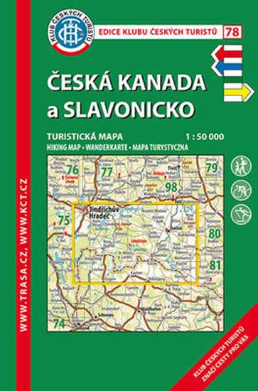 KČT 78 ČESKÁ KANADA A SLAVONICKO