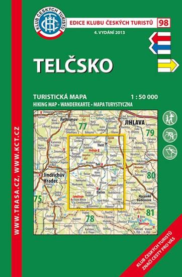 KČT 98 - TELČSKO