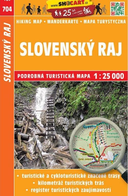 Darkovy Predmet Slovensky Raj 1 25t 704 Turisticka Mapa Shocart