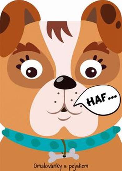 Pes - Omalovánky zvířátka