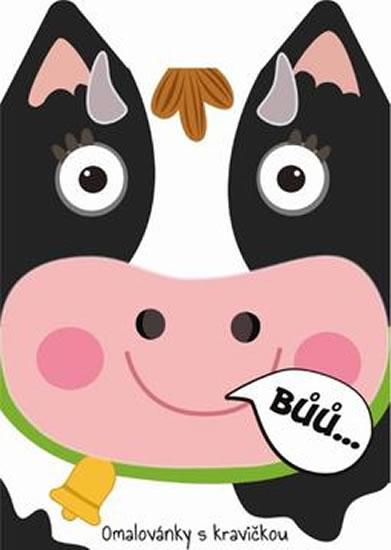 Kráva - Omalovánky zvířátka