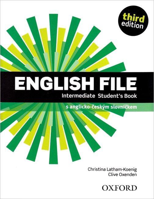 ENGLISH FILE INTERMED 3RD SB CZ