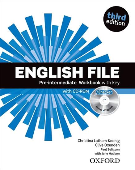 ENGLISH FILE PRE-INTERMEDIATE WB 3RD ED. WITH KEY