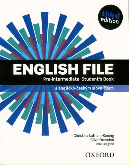 ENGLISH FILE PRE-INTERMEDIATE SB 3RD ED.