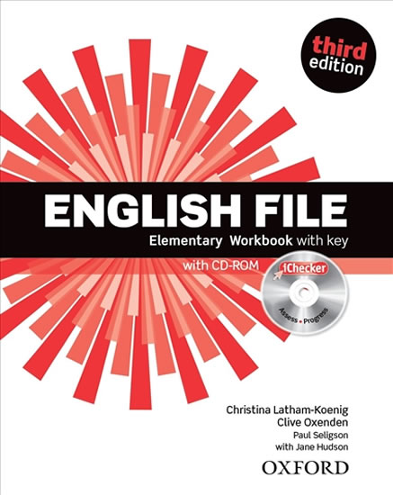 ENGLISH FILE ELEMENTARY WB WITH KEY THIRD EDITION