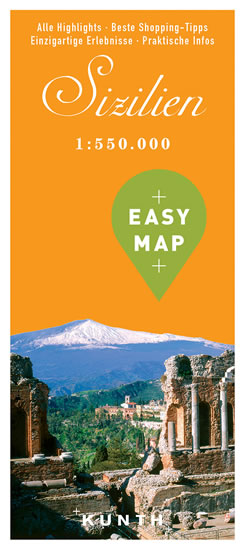 Sicilie Easy Map