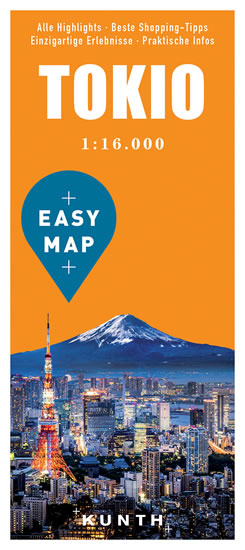 Tokio Easy Map 1:16000