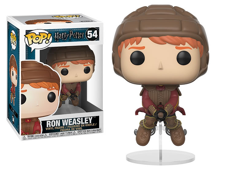 Funko POP Movies: Harry Potter - Ron on Broom