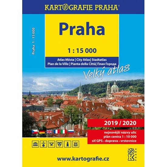 Praha – Velký atlas, 1 : 15 000 - 3. vyd