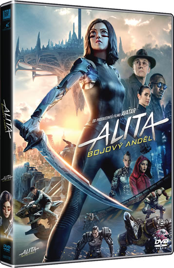 DVD Alita: Bojový Anděl