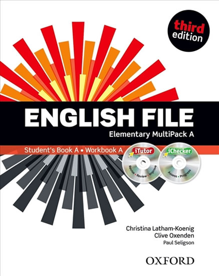 ENGLISH FILE 3ED.ELEMENTARY MULTIPACK A/OXFORD
