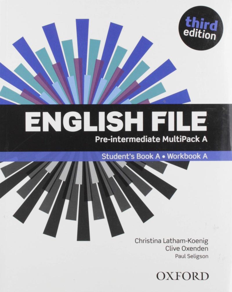 ENGLISH FILE 3ED.PRE-INTER MULTIPACK A/OXFORD