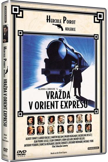 DVD Vražda v Orient expresu