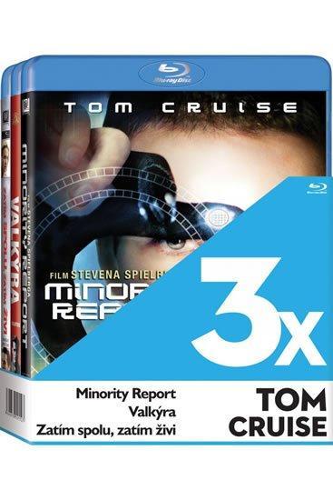 3 BD 3x Tom Cruise Blu-ray - neuveden