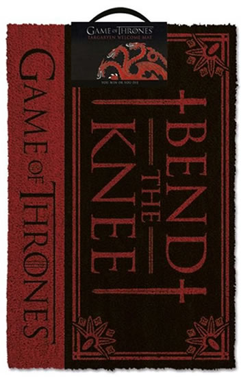 Rohožka Game of Thrones - Bend The Knee