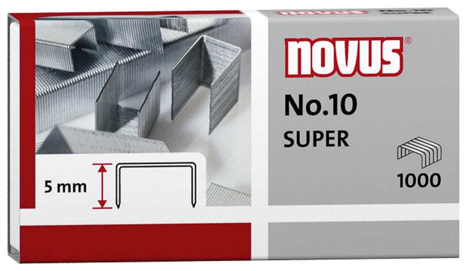 Drátky do sešívačky No. 10 SUPER - 1000 ks