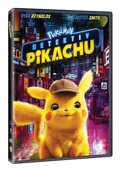 Pokémon:Dektektiv Pikachu DVD