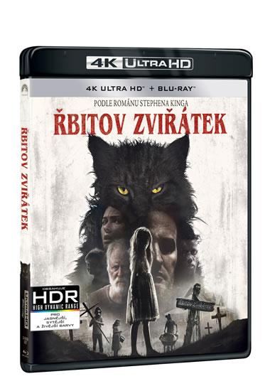 4K Ultra HD + Blu - ray Řbitov zviřátek