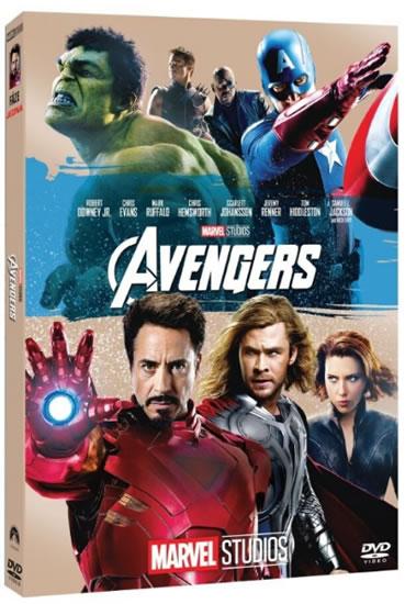 DVD Avengers (Edice Marvel 10 let)