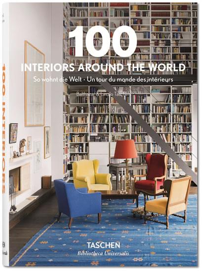 100 Interiors Around the World - Taschen Angelika