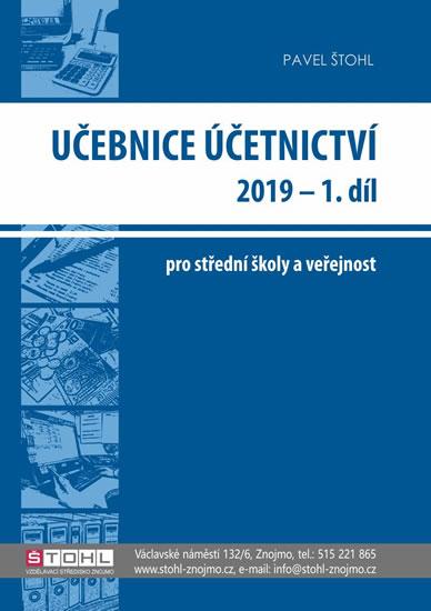 Učebnice Účetnictví I. díl 2019