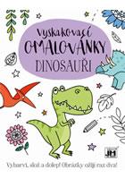 Dinosauři - Vyskakovací omalovánky