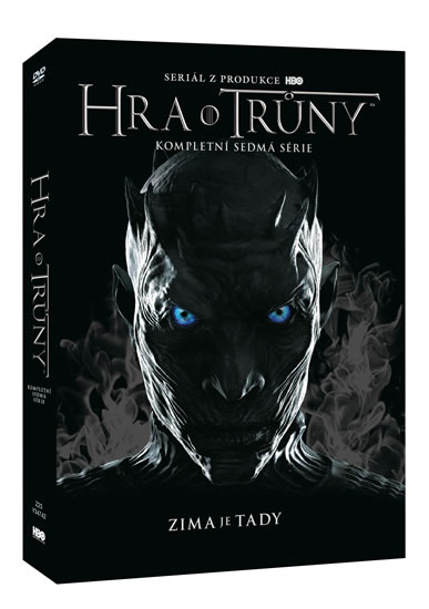 DVD Hra o trůny 7. série 4DVD