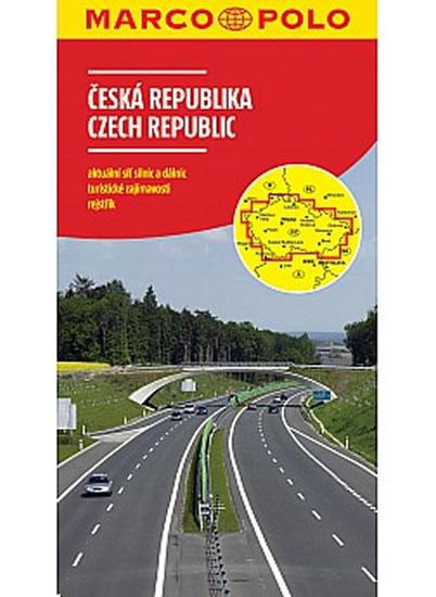 ČESKÁ REPUBLIKA MAPA 1:500