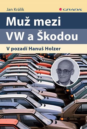 MUŽ MEZI VW A ŠKODOU V POZADÍ HANUŠ HOLZER