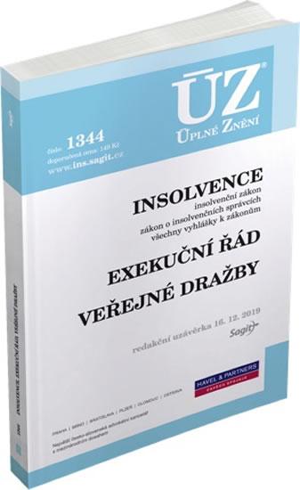 ÚZ 1344 INSOLVENCE, EXEKUČNÍ ŘÁD K 16/12/19