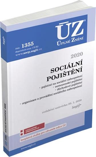 ÚZ 1355 SOCIÁLNÍ POJIŠTĚNÍ 2020 K 20/1/20