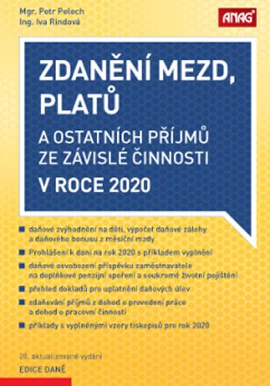 ZDANĚNÍ MEZD, PLATŮ 2020