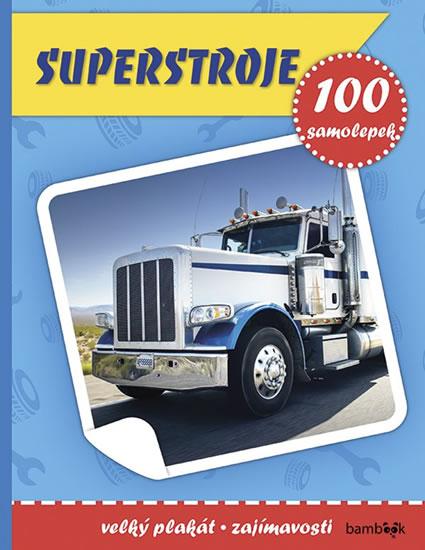 SUPERSTROJE - 100 SAMOLEPEK