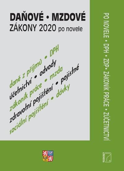 DAŇOVÉ ZÁKONY 2020 PO NOVELE
