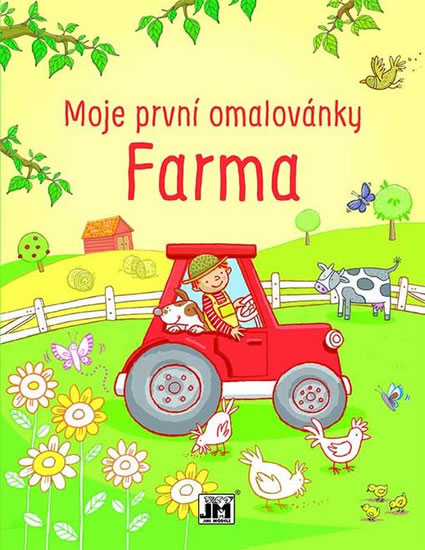 FARMA-MOJE PRVNÍ OMALOVÁNKY