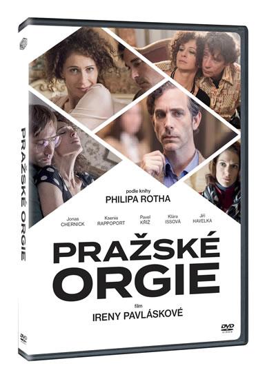 PRAŽSKÉ ORGIE DVD