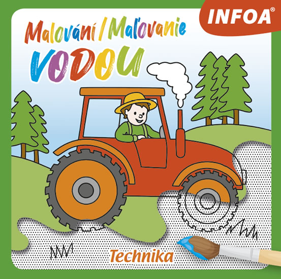 MALOVÁNÍ / MAĽOVANIE VODOU - TECHNIKA