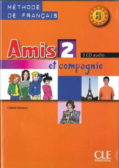 AMIS 2 ET COMPAGNIE 3CD AUDIO