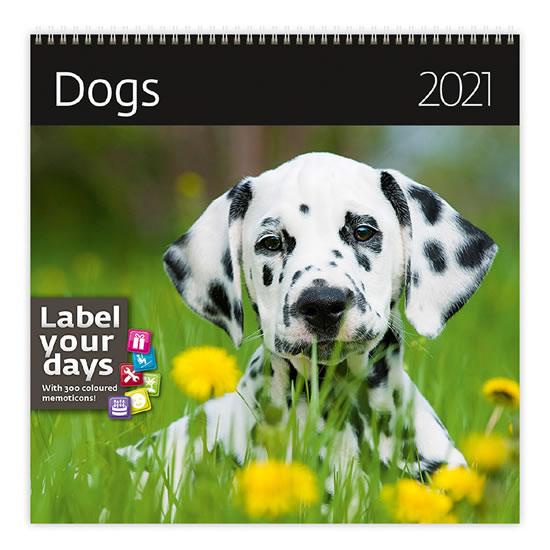 2021 DOGS NÁSTĚNNÝ