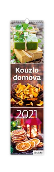 2021 KOUZLO DOMOVA NÁSTĚNNÝ ÚZKÝ