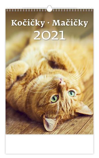 2021 KOČIČKY NÁSTĚNNÝ