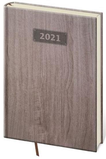 DIÁŘ WOOD 2021 HNĚDÁ