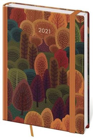 2021 DIÁŘ VARIO TREES A5 TÝDENNÍ