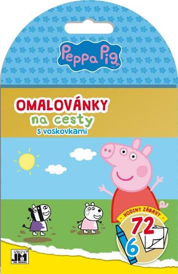 PEPPE PIG OMALOVÁNKY NA CESTY S VOSKOVKAMI