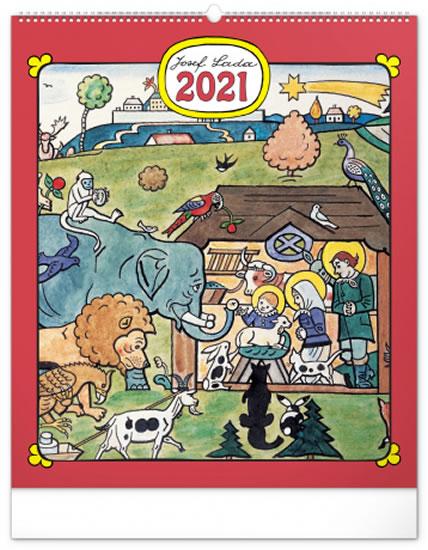 KALENDÁŘ JOSEF LADA 2021 ZVÍŘÁTKA